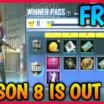 2020 PUBG MOBILE LITE – Season 8 Winner Pass Is Out How To Get For Free Winner Pass Season 8