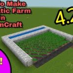 How to Make a Easy Automatic Farm in Realmcraft By Realmcraft Tutorial