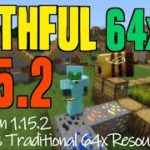 How to get Faithful Textures in Minecraft 1.15.2 – download install Faithful x64 1.15.2 compatible