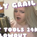 HOLY GRAIL – HAIR GAME CHANGER Hot Tools 24k Gold Charcoal Infused Blowout Review