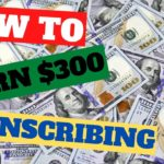 How Earn 💰🔥 300+ Weekly Online With Transcription Jobs That Pay To Work From Home💰🔥