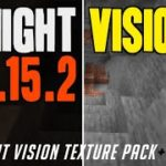How to get Fullbright Texture Pack in Minecraft 1.15.2 – download install Night Vision texture pack