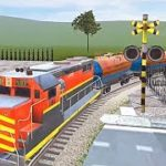 Indian Train City Pro Driving- Oil Tanker Train – Level 6 Using New Train