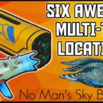 No Mans Sky – 6 Awesome Multi-Tool Weapon Locations – Tips and Tricks – Living ship Update 2020