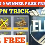 PUBG MOBILE LITE SEASON 9 FREE WINNER PASS TRICK HOW TO GET 100 FREE WINNER PASS IN PUBG LITE