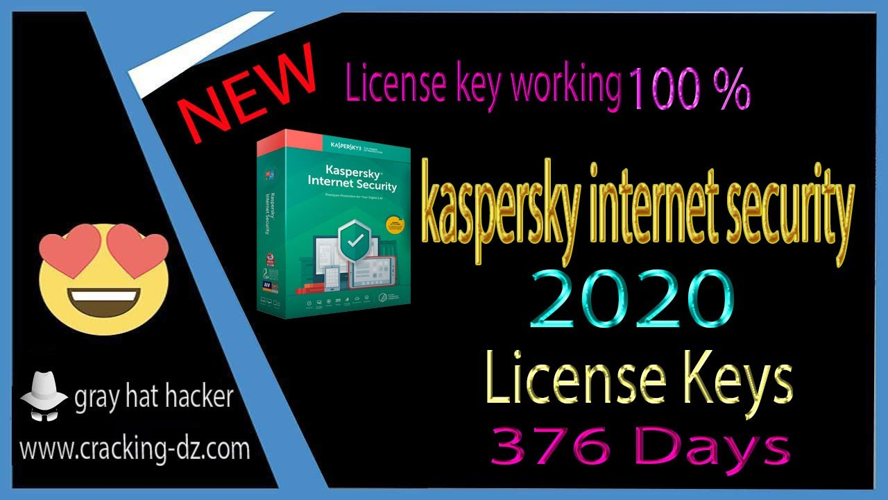 kaspersky internet security 2020 license key 100 working