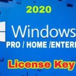 widows 10 license key 2020