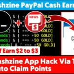 CashZine App 2020 Via Termux 🔥 Auto Claim Points Daily 2 to 3 Self Paypal Cash Earning Legit