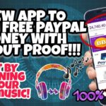 Earn Free Paypal Money just by Listening to your Favorite Music
