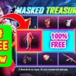 Get 100 FREE Draw In Masked Treasure Event PUB New Trick To Get UC