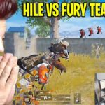 MERMİDEN HIZLI HİLECİ VS FURY TEAM feat Ersin Yekin , Fury Sezar , Flexible PUBG MOBİLE