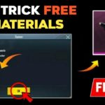 New Trick To Get Free Material In Pubg Mobile How To Get Free Material Free Material Pubg