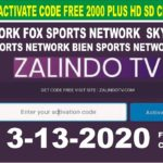 Zalindo TV New Update Free Activate Code 2000 Plus HD SD Channels Free