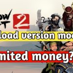 download shadow fight 2 mod apk max level unlimited money and gems