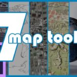7 Map Creation Tools for Adobe After Effects 🌎