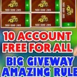 Free 10 Account Giveway For All Get Free CoinBiggest giveway Amazing Rule