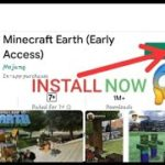 HOW TO DOWNLOAD AND INSTALL MINECRAFT EARTH FROM GOOGLE PLAY STORE ON ANY ANDROID DEVICE MINECRAFT
