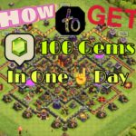 How To Get 100+ Gems In One Day Clash Of Clans