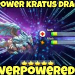 How to Breed Kratus Dragon and Kratus Dragon MAX POWER Dragon City 2020