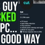 I Hired This Guy To Hack my PC For Better FPS… AND IT WORKED