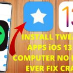 Install Tweaked Apps Games iOS 13 – 13.5 NO COMPUTER NO REVOKE FIX CRASH Tweaked Apps iOS 13