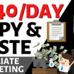 Make 540 per Day Copy Pasting FREE Images Articles (Easy Affiliate Marketing)