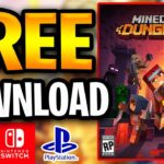 Minecraft Dungeons Free Download ✅ PC PS4 XBOX NS 🔥 Minecraft Dungeons Free Key Code