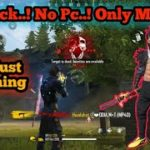 No Hack.. No Pc.. Only Mobile..💪 FREEFIRE TAMIL player kill Montage Freefire mobile player