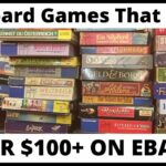7 Board Games That Sell on eBay for 100