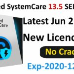 Advanced SystemCare 13.5.0 PRO+ SERIAL KEY Exp 2020-12-17
