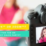 Facebook™ or Zoom™… which is better for online direct sales parties? Anchor Design Co.