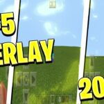 HOW TO GET F5 DROP OVERLAYS IN MCPE ANY VERSION MINECRAFT BEDROCK EDITION