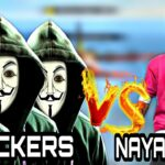 NAYANASIN VS 4 HACKERS NEW SESON RANK MODE UNBELIEVABLE BOYAAH MUST WATCH