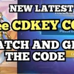 NEW FREE CD KEY CODE IN MOBILE LEGEND ADVENTURE