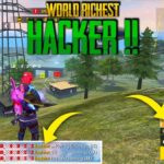 No1 Richest Hacker in Free Fire Free Fire Tricks Tamil Sk Gaming