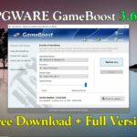 PGWARE GameBoost 3.6.22.2020 Full Version