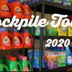 STOCKPILE TOUR 2020 How I Organize My Garage Coupon Stockpile Couponing 101