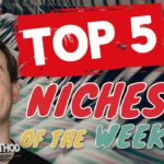 TOP 5 NICHES 🔥 Print on Demand Niche Research 6 — (6212020)
