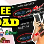 UNLI ₱400 FREE LOAD GAMIT ANG CELLPHONE Globe Smart Sun TM TnT FREE LOAD APP 2020