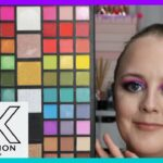 XX Revolution XXtravaganza Palette Full Testing , Tutorial Swatches Makeup Revolution