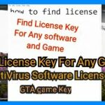 how to find license key for any software gta key key for all installed software sagar infomode