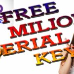 software serial keys free 1.5 milion serial key