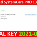 Advanced SystemCare PRO 13.6.0.291 SERIAL KEY 2021