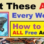 Get These ALL Every Week.. How to Get ALL FREE ANVILS.. (7DS Seven Deadly Sins Grand Cross)