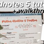 GoodNotes 5 Tutorial + Walkthrough iPad Pro