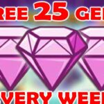 HOW TO GET 25 FREE GEMS EVERY WEEK MONSTER LEGENDS RUNE LORDS HOW TO PLACE TOP 5000 RUNE LORDS