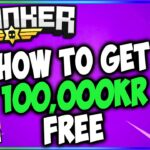 HOW TO MAKE 100,000KR IN KRUNKER.IO FOR FREE (5,000KR GIVEAWAY)