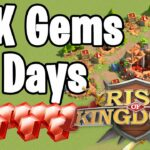 How To Gather 60K Gems in 30 Days in RoK For FREE Rise of Kingdoms
