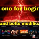 Last one for beginners nuts and bolts modifications settings of a Kodi Build