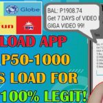 Libreng P50 Pesos Load EveryDay With Proof of Payment l Free Load App 2020 Smart,Sun,Tnt,Globe,Tm